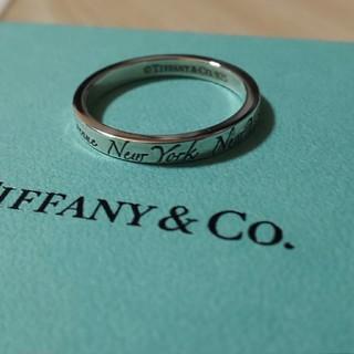 ティファニー(Tiffany & Co.)のkimuo様☆専用ノーツナローリング 20号(リング(指輪))