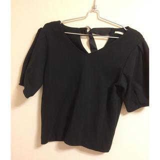 ジーユー(GU)の春、秋トップス(Tシャツ(長袖/七分))