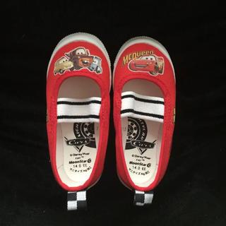 ディズニー(Disney)のカーズ上靴14センチ新品未使用(スクールシューズ/上履き)