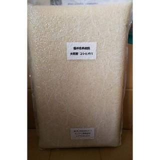 コシヒカリ 大野産 福井県 奥越産 お米 5kg(米/穀物)