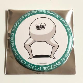 乃木坂46 - どいやさん 缶バッジ 西野七瀬
