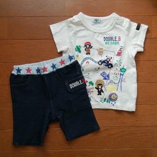 DOUBLE.B - T-shirtとパンツセット