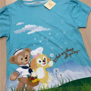 ダッフィー - 香港ディズニー限定 ダッフィ クッキー Tシャツ 半袖