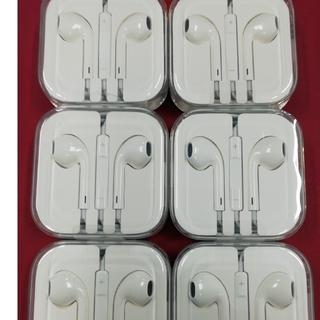 アイフォーン(iPhone)の新品iphon イヤホン 6個(ストラップ/イヤホンジャック)