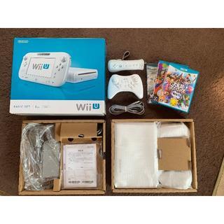 ニンテンドウ(任天堂)のWii U 本体+コントローラ(proとwiiリモコン)+ソフト(家庭用ゲーム本体)