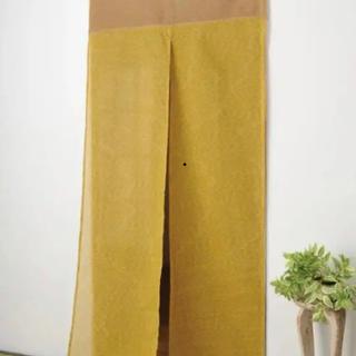 綿しじら ロング のれん 85×175  新品(のれん)