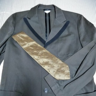 ドリスヴァンノッテン(DRIES VAN NOTEN)のドリスヴァンノッテン 古着48 スプリングジャケット+バナリパネクタイ(テーラードジャケット)