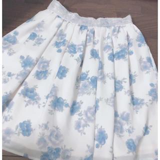ロディスポット(LODISPOTTO)のLODISPOTTO 花柄スカート(ミニスカート)