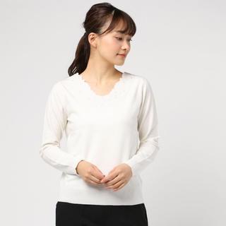 テチチ(Techichi)のTechichi 衿ぐり刺繍プルオーバー(ニット/セーター)