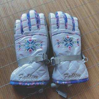【美品】子供用 スキー手袋 グローブ(手袋)