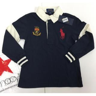 ポロラルフローレン(POLO RALPH LAUREN)の☆新品購入品☆ラルフローレンビッグポニーラガーシャツ4T/110(Tシャツ/カットソー)
