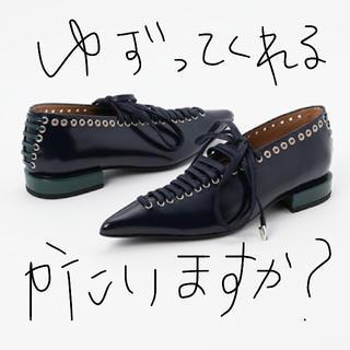 トーガ(TOGA)のtoga レースアップフラットシューズ(ローファー/革靴)