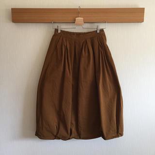 ムジルシリョウヒン(MUJI (無印良品))のチノ バルーンスカート(ロングスカート)