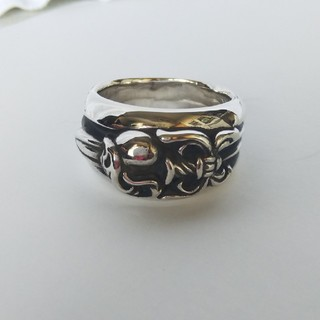 クロムハーツ(Chrome Hearts)のダガーハートリング 27号(リング(指輪))