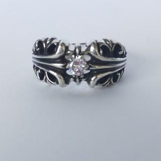 クロムハーツ(Chrome Hearts)のK&Tリング ダイヤ 28号(リング(指輪))