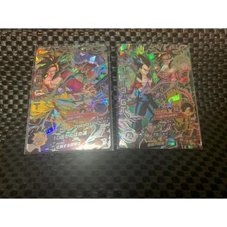 ドラゴンボール(ドラゴンボール)のドラゴンボールヒーローズ 黒煙悟空 ベジータSECセット(シングルカード)