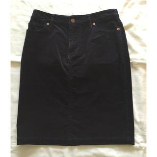 ムジルシリョウヒン(MUJI (無印良品))のコーデュロイタイトスカート(ミニスカート)