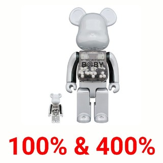 MEDICOM TOY - MY FIRST BE@RBRICK innersect 100% & 400%