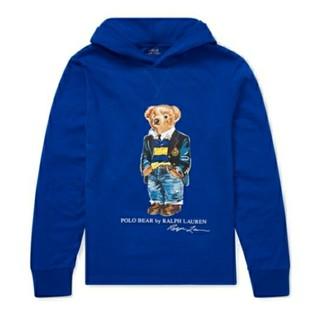 ポロラルフローレン(POLO RALPH LAUREN)の新品♡ラルフローレン フード付き長袖Tシャツ ボーイズM/150(Tシャツ/カットソー)