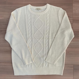 シマムラ(しまむら)の新品未使用♡しまむら♡ケーブルニット(ニット/セーター)
