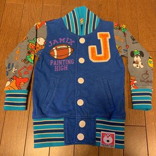 ジャム(JAM)のJAM used 110㎝ 美品 ブルー じゃりぐまトレーナー (ジャケット/上着)