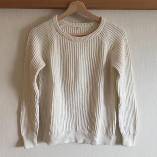 ムジルシリョウヒン(MUJI (無印良品))のオーガニックコットン クルーネックセーター(ニット/セーター)