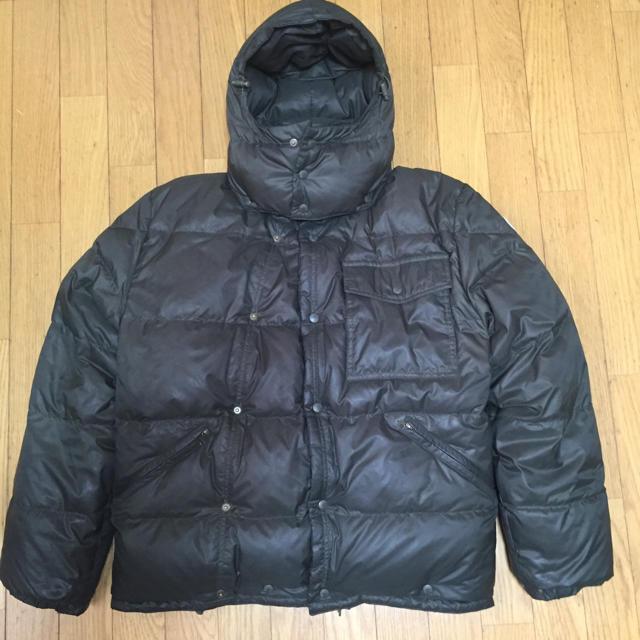 MONCLER(モンクレール)のオールドモンクレール 青タグ made in FRANCE メンズのジャケット/アウター(ダウンジャケット)の商品写真