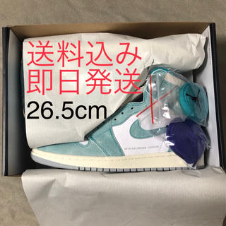 ナイキ(NIKE)のNIKE AIR JORDAN 1 TURBO GREEN (スニーカー)