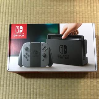 ニンテンドウ(任天堂)の新品 Nintendo Switch グレー(家庭用ゲーム本体)