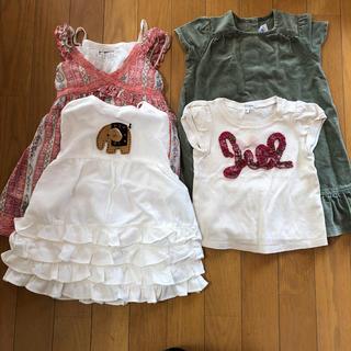 ジルスチュアート(JILLSTUART)の子供服 セット  90〜95cm(ワンピース)