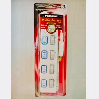 パナソニック(Panasonic)のパナソニック タップ 個別スイッチ付 4個口 3m(その他 )