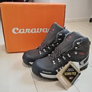 キャラバン(Caravan)の【新品未使用】Caravan 登山靴 C2_02 グレー 25.5cm EE(登山用品)