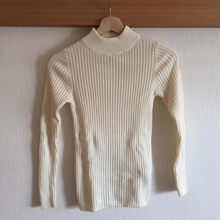 ムジルシリョウヒン(MUJI (無印良品))の首のチクチクをおさえた ハイネックセーター(ニット/セーター)