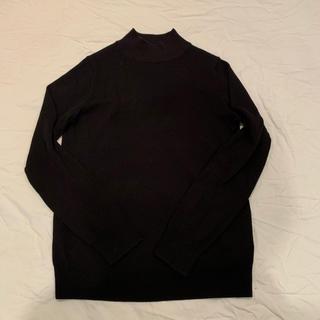 ムジルシリョウヒン(MUJI (無印良品))の首のチクチクをおさえた・リブ洗えるハイネックセーター (ニット/セーター)