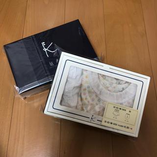 クミキョク(kumikyoku(組曲))の【組曲キッズ】BABYギフトBOX(フラワー柄)80cm(ワンピース)