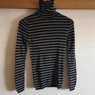 MUJI (無印良品) - 首のチクチクをおさえた タートルネックセーター