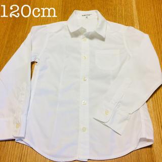BeBe - 美品✨120 べべ フォーマル ホワイトシャツ