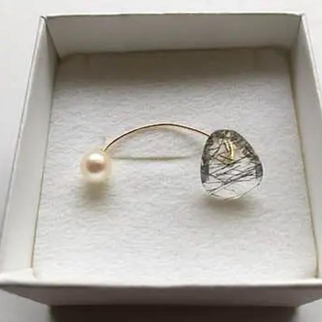 H.P.FRANCE(アッシュペーフランス)のK10ピアス NICO jewelry drama H.P.FRANCE レディースのアクセサリー(ピアス)の商品写真