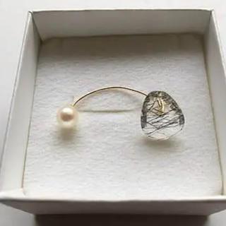 アッシュペーフランス(H.P.FRANCE)のK10ピアス NICO jewelry drama H.P.FRANCE(ピアス)