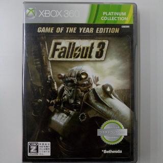 エックスボックス360(Xbox360)のFallout3 GAMEOFTHEYEAR EDITIOM Xbox360⠀(家庭用ゲームソフト)