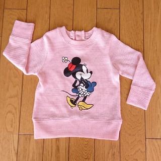 ディズニー(Disney)のディズニー ミニーマウス セーター 90(ニット)