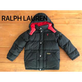 ラルフローレン(Ralph Lauren)のラルフローレン ダウン 6T ブラック(ジャケット/上着)