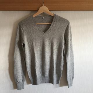 ムジルシリョウヒン(MUJI (無印良品))のカシミヤ Vネックセーター(ニット/セーター)