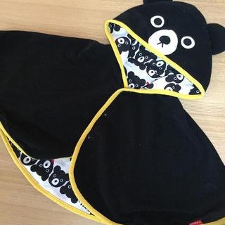 ミキハウス(mikihouse)のミキハウスダブルB☆7080センチ☆ポンチョ(カーディガン/ボレロ)