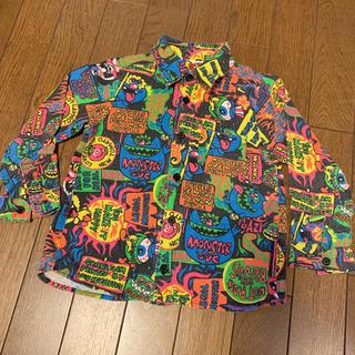 ジャム(JAM)のラブレボ used 100㎝ モンスター シャツ ブラック(Tシャツ/カットソー)