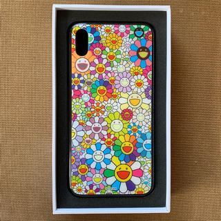 iPhone ケース Xs max用 村上隆 フラワーマルチカラー(iPhoneケース)