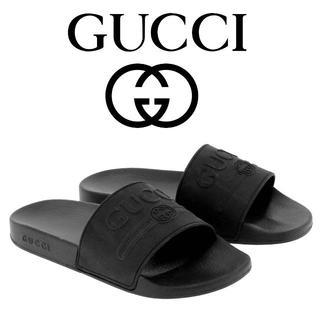 グッチ(Gucci)の【5】GUCCI 19ss シャワーサンダル size 7.0(サンダル)