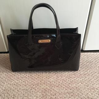ルイヴィトン(LOUIS VUITTON)のルイヴィトン ウィルシャー PM  アマラント 美品(ハンドバッグ)