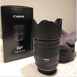 キヤノン(Canon)の極美品キヤノン canon RF 50mm F1.2L USM(レンズ(単焦点))