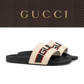 グッチ(Gucci)の【6】GUCCI 19ss シャワーサンダル size 7.0(サンダル)